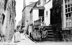 St Ives St Ives Cornwall, Cornwall England, England Uk, Vintage Photographs, Vintage Photos, Historical Pictures, Far Away, Ancestry, Holiday Fun