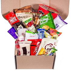 Classic Asian Snack Box  College Care Package  Japanese Candy  Korean Snacks  Chinese Snacks  Travel Snacks and Junk Food Classic Asian Snack Box 20 Count -- Details can be found by clicking on the image.Note:It is affiliate link to Amazon.