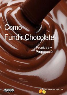 descripción detallada como fundir un buen chocolate.