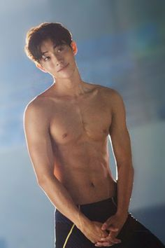 Nam Joo Hyuk - sweet, merciful fuck..  where do I put this..    so many boards... hands.....    neck.....  god, this hurts noona....
