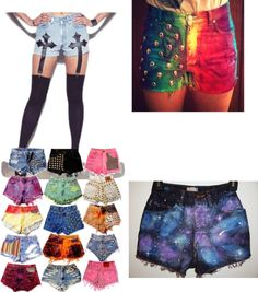 """Luka's Shorts wardrobe would look like this :)     """"Que bellos wn *--*"""" by tatummills ❤ liked on Polyvore"""