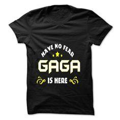 ((Top Tshirt Popular) LTD Have No Fear Gaga Is Here [Tshirt Sunfrog] Hoodies, Tee Shirts