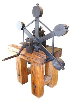 Kremnica (Slovakia) Machine, a counterweighted taschenwerk press from the mid century Coin Collecting, 17th Century, Coins, History, Lifestyle, Cool Gadgets, Historia, Rooms