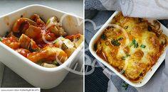 Low Carb Rezept für einen leckeren Champignons-Tomaten-Auflauf. Wenig Kohlenhydrate und einfach zum Nachkochen. Super für Diät/zum Abnehmen. Jetzt ansehen!