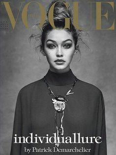 Gigi Hadid by Patrick Demarchelier for Vogue Italia April 2016 Cover - Valentino. Gigi Hadid by Pa Patrick Demarchelier, Foto Fashion, Vogue Fashion, Fashion Models, Trendy Fashion, Sweet Fashion, Style Fashion, High Fashion, Bruce Weber
