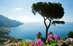 Amafili coast , Italy