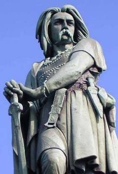 Vercingetorix of the Averni, who united the Celtic tribes of Gaul against Rome. He ultimately failed, but it's an inspiring story.
