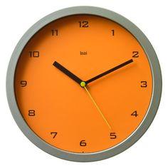 "10"" Rimwood Wall Clock & Reviews | AllModern"