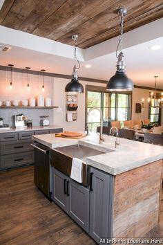 Gorgeous 30 Chic Modern Farmhouse Kitchen Decor Ideas https://roomaniac.com/30-chic-modern-farmhouse-kitchen-decor-ideas/