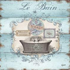 Rustic+French+Bath+II+at+FramedArt.com