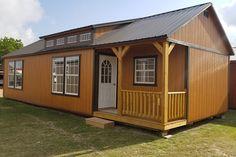 Barn Homes Floor Plans, Small House Floor Plans, Barn House Plans, Cabin Plans, Shed To Tiny House, Tiny House Cabin, Cabin Homes, Log Homes, Tiny Homes
