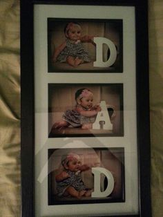 First father's day Diy Father's Day Gifts From Baby, Baby Fathers Day Gift, Homemade Fathers Day Gifts, Fathers Day Photo, First Fathers Day, Fathers Day Crafts, Daddy Gifts, Gifts For Dad, Happy Fathers Day Pictures
