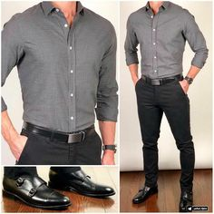 5 Smart Pants & Shirt Outfit Ideas For Men Formal Men Outfit, Men Formal, Mens Semi Formal Wear, Summer Formal Outfits, Semi Formal Outfits, Formal Dresses For Men, Formal Shirts For Men, Dress Formal, Business Outfit