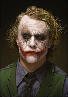 Heath Ledger's Joker - Wow! What A Pciture