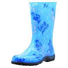 """Sloggers Garden Boot - Tulip Blue at Target $35.09 in size 6 - review """"cute but runs small"""""""