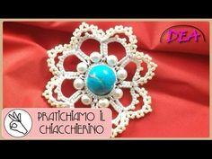 P.C.4°T.n.1°P.-Snowflake- Pratichiamo la scuola dei cerchi con perle all...