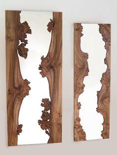 Зеркало рамка деревянная