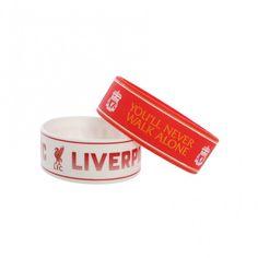 LFC 2PK Rubber Bracelets | Liverpool FC Official Store
