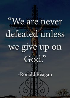 Ronald Reagan Quote #God