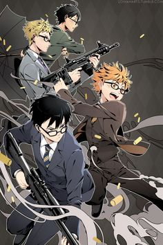 Everyone looks so serious in this, all but Hinata. He looks like he's about to have so much fun.