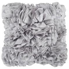 Luster Pillow in Light Gray