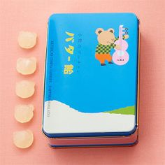 小熊のプーチャンバター飴