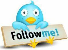 Let's connect on Twitter!! Tweet, tweet...