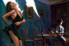 Mark Keller художник-самоучка из Сан-Франциско   (1280×854)
