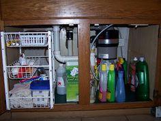 Kitchen Sink Organizer Ideas under kitchen sink cabinet organization: ideas you can use