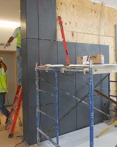 GFRC (Glass Fiber Reinforced Concrete) Panels.