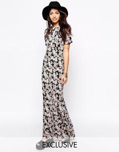 Fallen Star Floral Maxi Dress - Multi