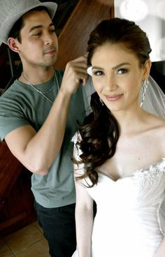 COLORISMYWEAPON by Noe Mae - Beauty Videos, Hair Care, Reviews & Girly Chitchat: Search results for kristine hermosa Filipina Makeup, Filipina Actress, Bridal Make Up, Bridal Hair, Wedding Makeup, Weddingideas, Wedding Details, Wedding Hairstyles, Hair Care