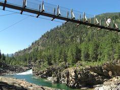 Swinging Bridge, Kootenai River-4914900990