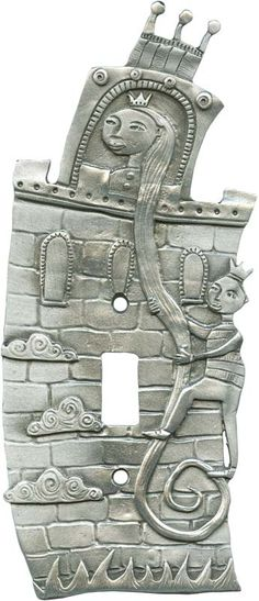 RAPUNZEL Switch Plates, Outlet Covers & Rocker Switchplates