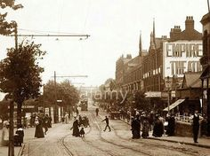 Alexander Road, Cleethorpes. Circa 1900 Old Pictures, Old Photos, Old Street, Local History, Vintage Photography, Old Town, The Past, Street View, Lost
