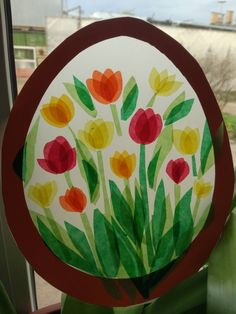 window pictures spring summer - – You are in the right place for … – - Valentine Crafts For Kids, Halloween Crafts For Kids, Diy Crafts For Kids, Art For Kids, Arts And Crafts, Egg Carton Crafts, Egg Crafts, Paper Crafts, Waldorf Crafts