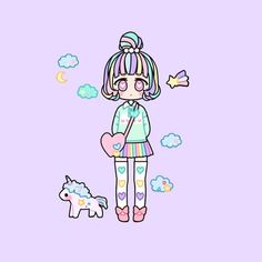 I am in love with this pastel girl app 😍💖✨ River Bank, Am In Love, Drawing Clothes, Pastel Art, Kawaii Clothes, Drawing Tutorials, Anime Outfits, Anime Chibi, Cotton Candy