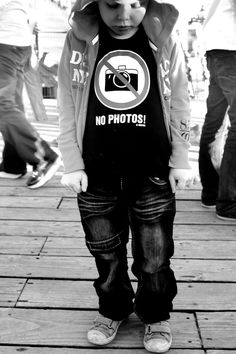 Sorry kiddo, you are too cool, not to take your photo! ;)