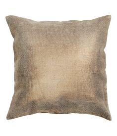 Льняной чехол на подушку H&M