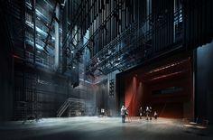 Music Academy in Bydgoszcz on Behance