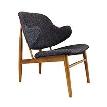 Wanting a lounge or side chair to spice up your home? Take a look at Sokol's classy Replica Ib Kofod-Larsen Lounge Chair - Walnut. Sofa Chair, Armchair, Couch, Fireplace Furniture, Occasional Chairs, Side Chairs, Sofas, Accent Chairs, Lounge
