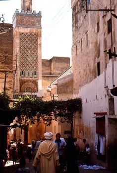 Fez.Street Scene.1970