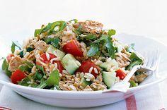 Brown Rice & Tuna Salad