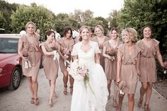 love these bridemaids dresses