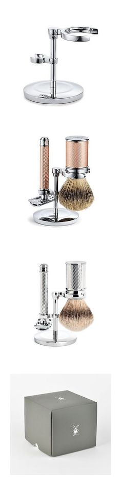 Shaving and Grooming Kits and Sets: Mhle Traditional Safety Razor And Shaving Brush Stand -> BUY IT NOW ONLY: $88.88 on eBay!
