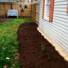 New mulch!