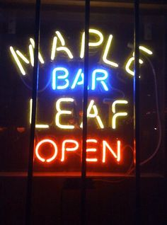 Maple Leaf Bar on Oak Street in New Orleans...great music and food on this street