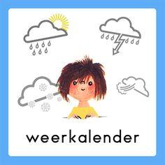 Weerkalender Fiep Westendorp Daily Schedule Preschool, Schedule Cards, Busy Boxes, Google Ads, Schmidt, Preschool Activities, Back To School, Kindergarten, Clip Art