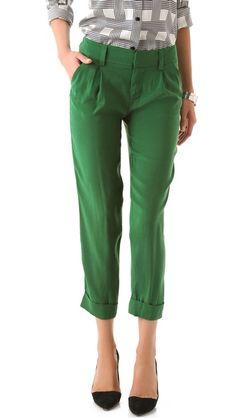 Mr Green Jeans via alice + olivia Arthur Pants