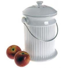 Ceramic Kitchen Compost Pail